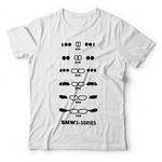 BMW 3 Series Generations T-Shirt - White