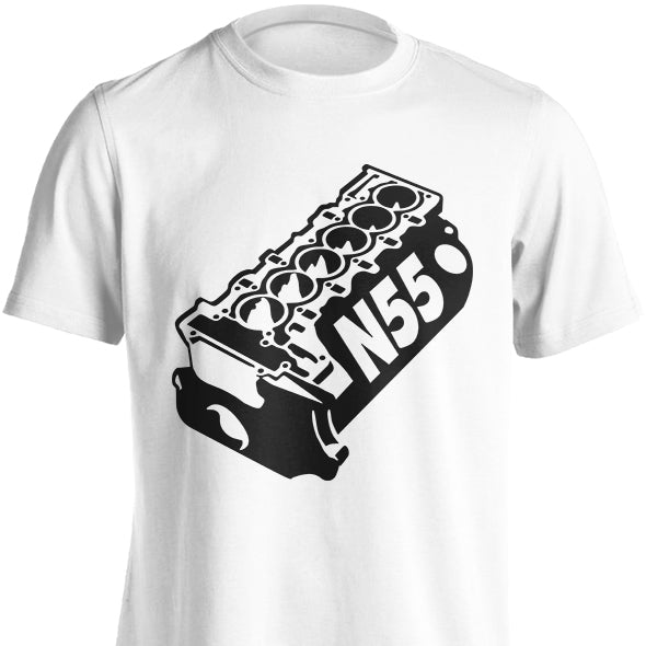 BMW N54 or N55 Engine Block T-Shirt