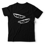 F80/F30 Headlights T-Shirt - Black