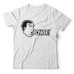 "Jeremy Clarkson ""POWER!"" T-Shirt - White"