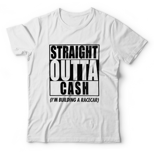 STRAIGHT OUTTA CASH T-Shirt - White