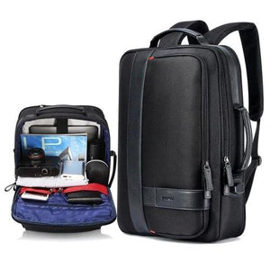Men Business USB Charging Anti Theft Laptop Bag Large Capacity Backpack