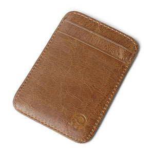Genuine Leather Multi-function Card Holder Wallet Purse