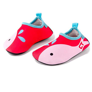 The Whale Kids Swim Water Shoes Barefoot Aqua Socks Shoes for Beach Pool Surfing Yoga