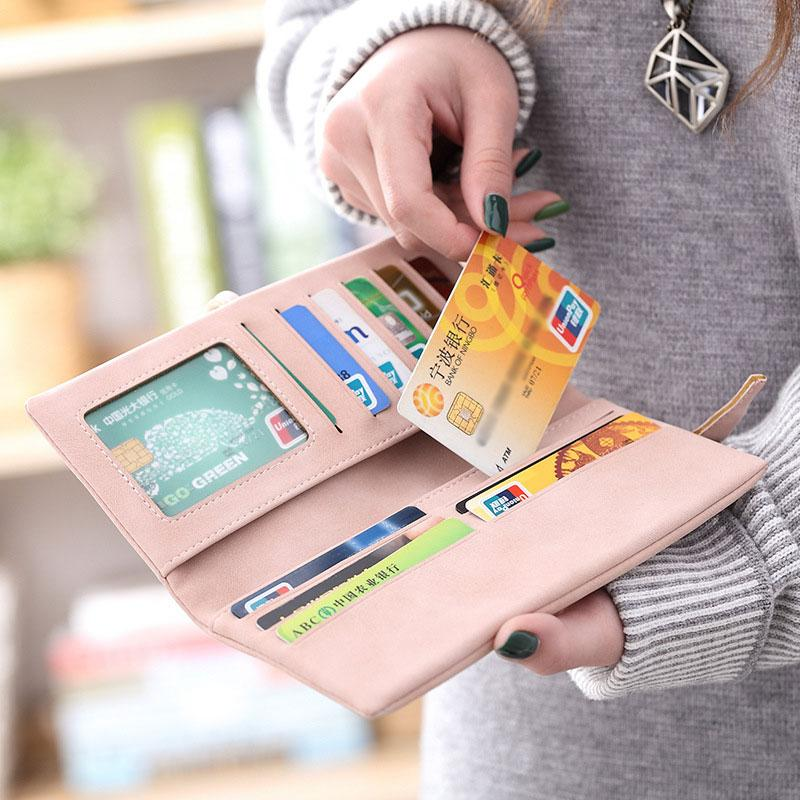 Large Capacity Multi-card Soft Leather Wallet