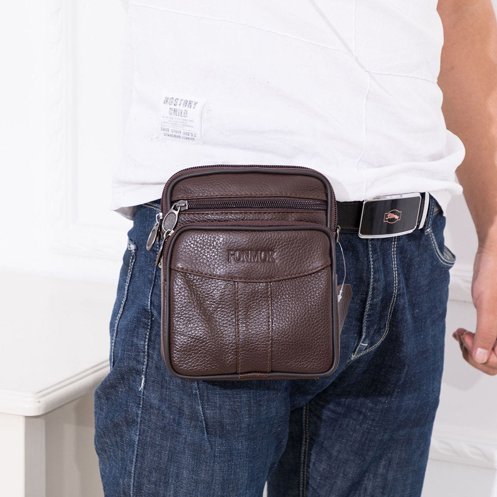 Multi-functional Business Casual Shoulder Bag Waist Bag Crossbody Bag For Men