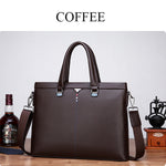 Vintage Business Waterproof Handbag Crossbody Shoulder Bag For Men