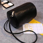 Women PU Leather Vintage Pillow Phone Bag Crossbody Bag