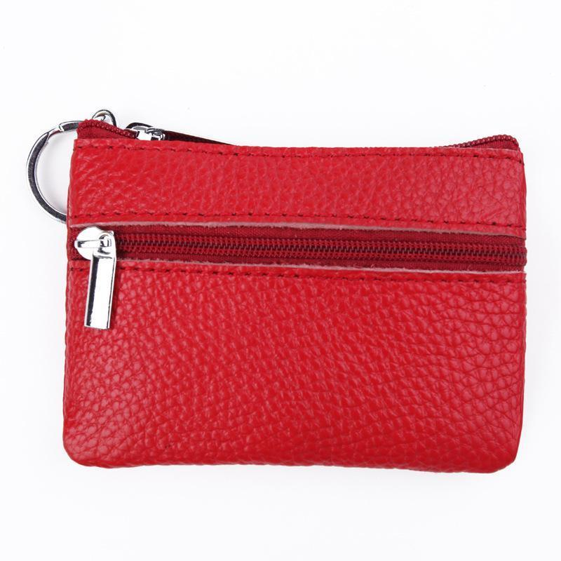 Women Cute Mini Coin Purse Short Key Wallet Coin Bag