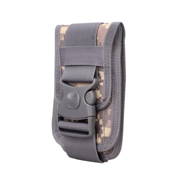Men 6 Inch Outdoor Tactical Phone Holder Card & Coin Pocket