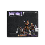 Fortnite Pattern Print Short/Long Leather Wallet