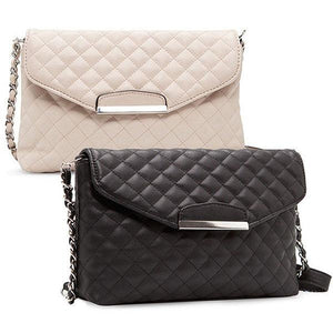 Dawu Mango Quilted Chain Sling Bag