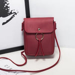 Women Stylish Tassels Phone Bag Shoulder Bags Crossbody Bags