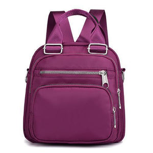 Large Capacity Embossing Women Backpacks