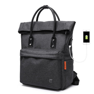 TANGCOOL USB Charging Handbags Multifunction Laptop Backpack