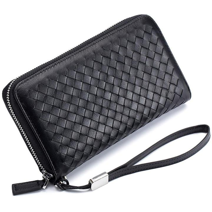 Classical RFID Long Wallet