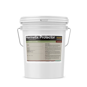 Hermetix Protector protects the densified  polished concrete surfaces.