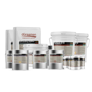 Self-leveling Epoxy Coating Kit (concrete substrate) | 500 Sq. Ft.