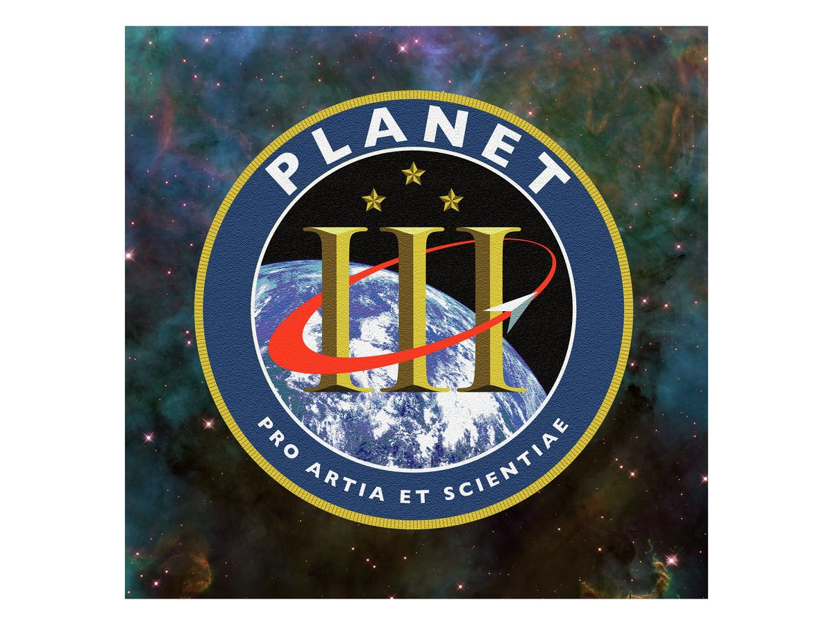 PLANET THREE - MISSION PATCH