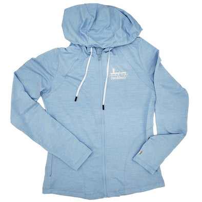 Docktails Women's Cabana Daze Zip Hoodie with UPF50 sun protection