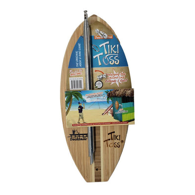 Docktails Tiki Toss Surf Deluxe ring toss game