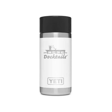 Docktails YETI Rambler 12oz Bottle White
