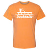 Docktails Men's Short Sleeve Tee in Sunset Heather