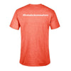 Docktails Men's Semi-Fitted Tee in Sunset Heather, perfect for dockside pubs and waterfront restaurants