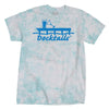 Docktails Unisex Ocean Tie Dye T-Shirt, perfect for your favorite beach bars