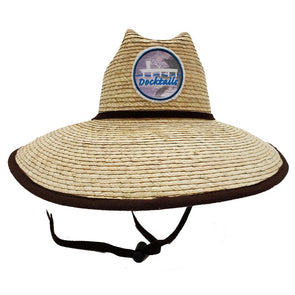 Docktails Traveler Packable Lifeguard Hat, perfect for hanging out at your favorite dock or beach bar