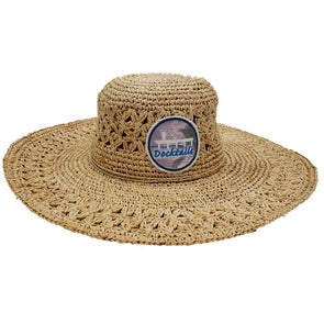 Docktails Women's Bohemian Straw Sun Hat, the perfect beach sun hat