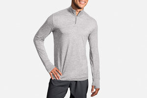 Brooks Dash 1/2 Zip Long Sleeve Shirt (Men's)