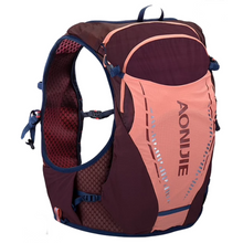 Load image into Gallery viewer, Windrunner 10L Pack - Maroon/Salmon Pink