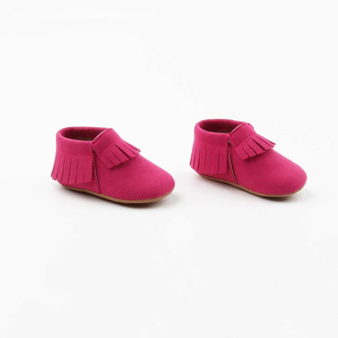Hot Pink Moccasins