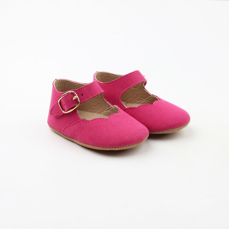 Hot Pink Mary Janes