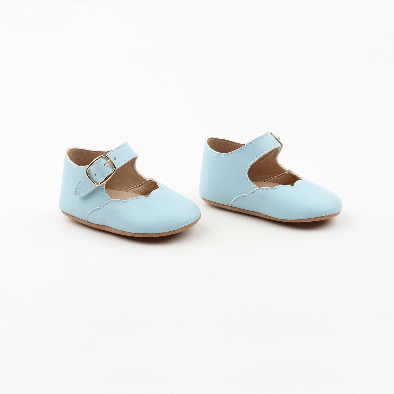 Baby Blue Mary Janes