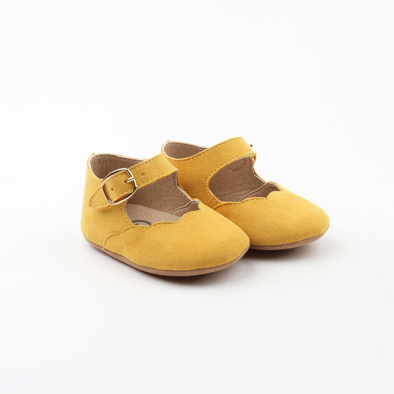 Mustard Yellow Mary Janes