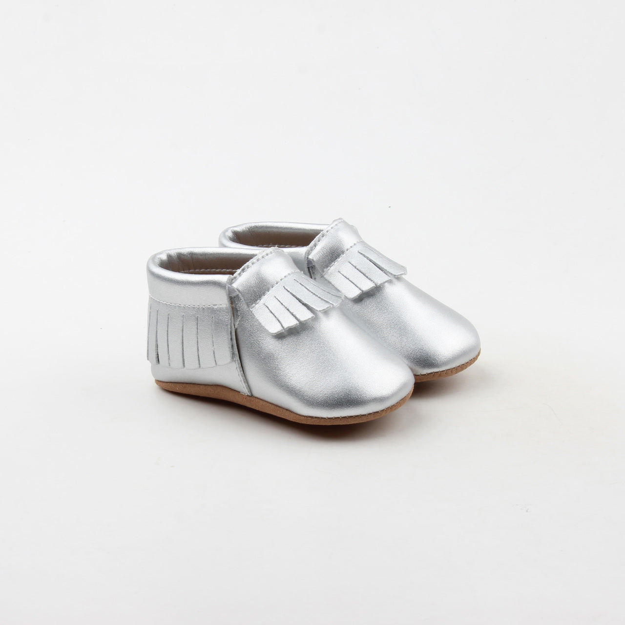 Twinkling Silver Moccasins
