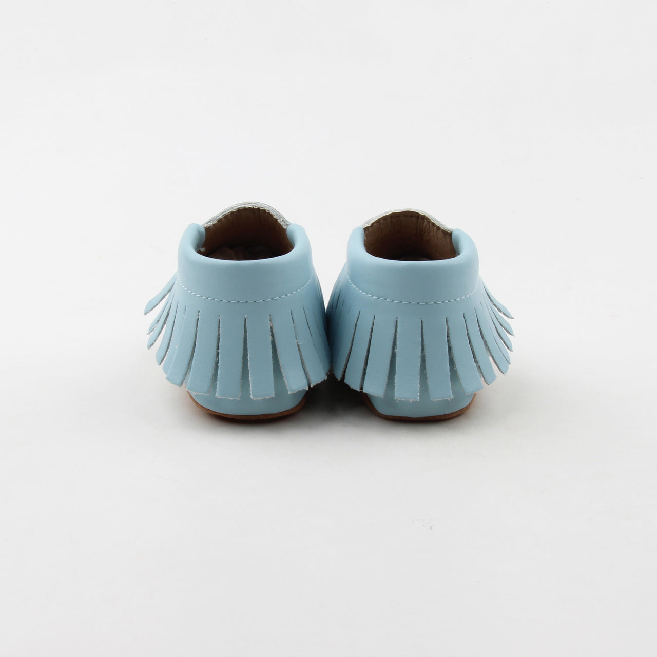 Baby Blue Moccasins