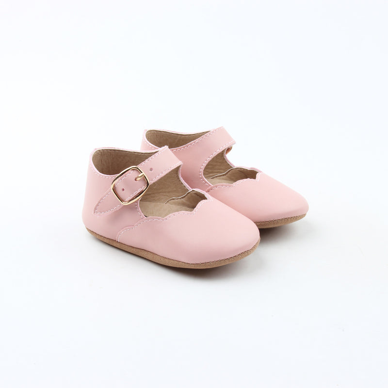 Baby Pink Mary Janes