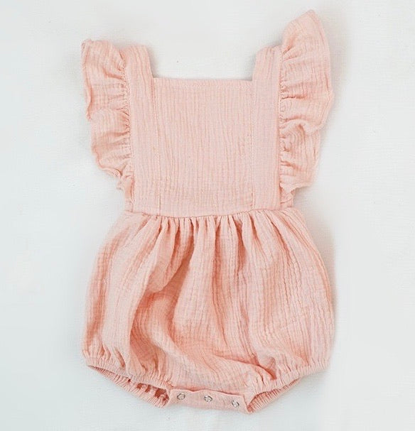 Sienna Romper in Blush
