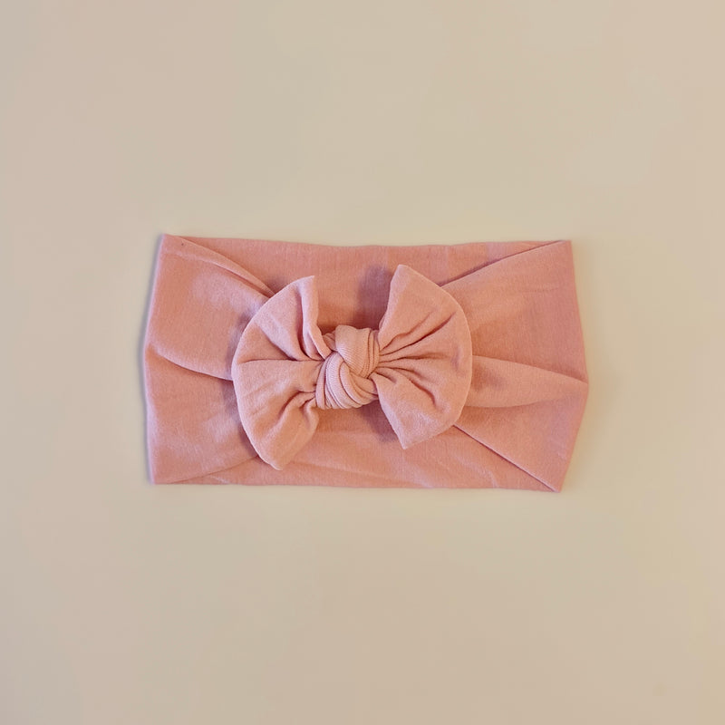 Soft Headband In Dusty Rose