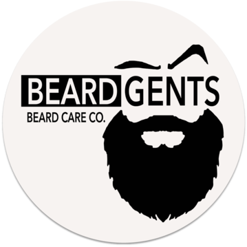 Beard Gents Drink Coaster