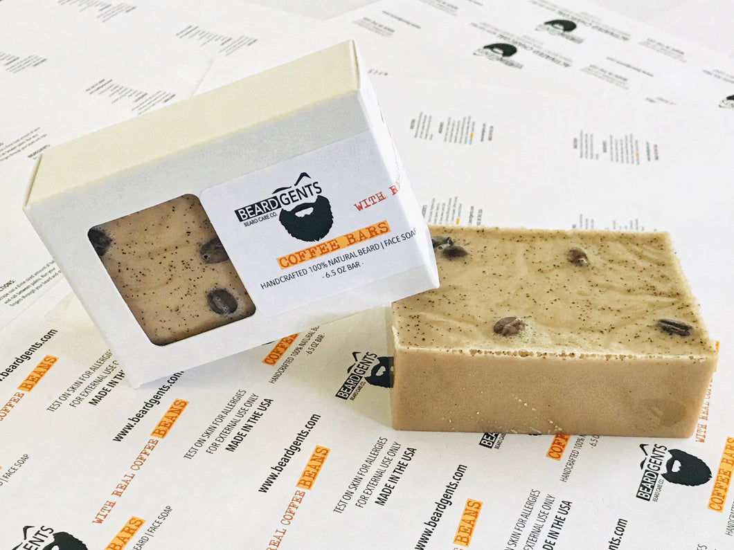 Coffee Bar Beard Soap