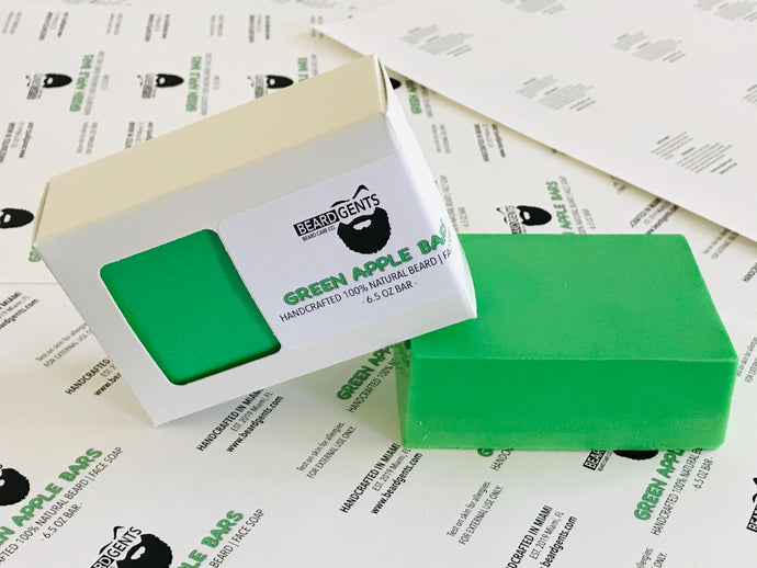 Apple Bar Beard Soap (New Release)