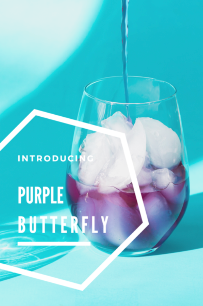 Our Latest Blend 'Purple Butterfly'