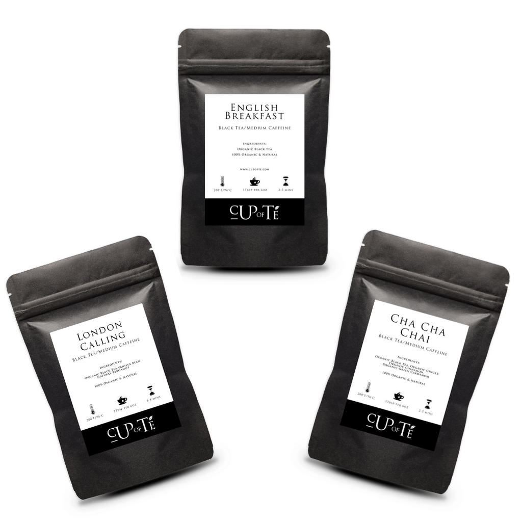 Organic Black Tea Sampler Pack