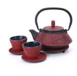 Iron Cast Teapot Set - Cup of Té