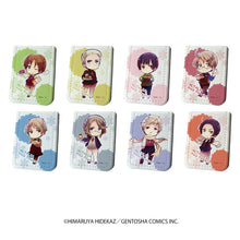 "Leather Sticky Notes Book ""Hetalia Axis powers"" 01"