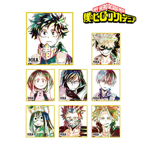 My Hero Academia Trading Ani-Art Mini Shikishi Blind Box